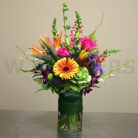 W Flowers product: Autumn Affection