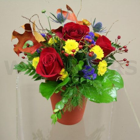 W Flowers product: Autumn Centerpiece