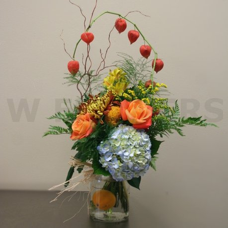 W Flowers product: Autumn Splendor