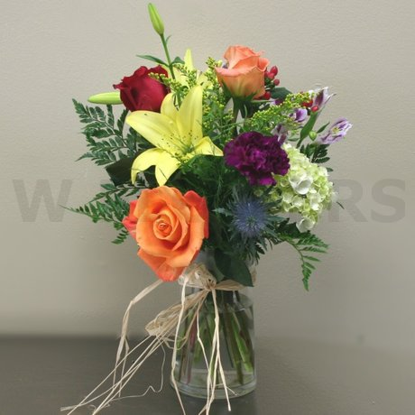 W Flowers product: Autumn Sunshine