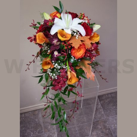 W Flowers product: Autumn wedding bouquet