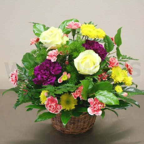 W Flowers product: Basket of Love