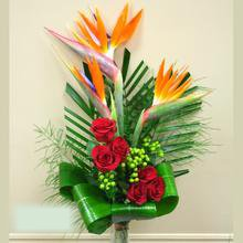 W Flowers product category: Birds with Roses