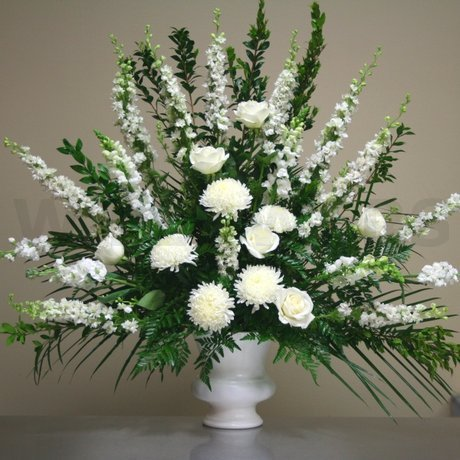 Flower Delivery Ottawa on Blessings Large White Arrangement   W Flowers Ottawa