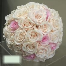 W Flowers product category: Blush and Ivory wedding bouquet