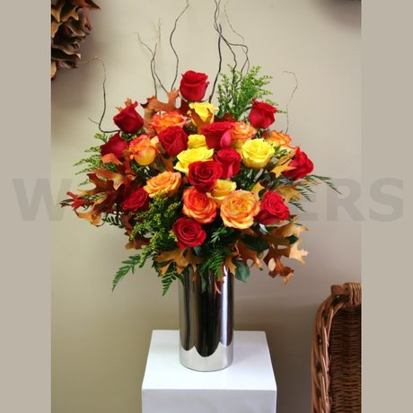 W Flowers product: Bouquet of Autumn Roses