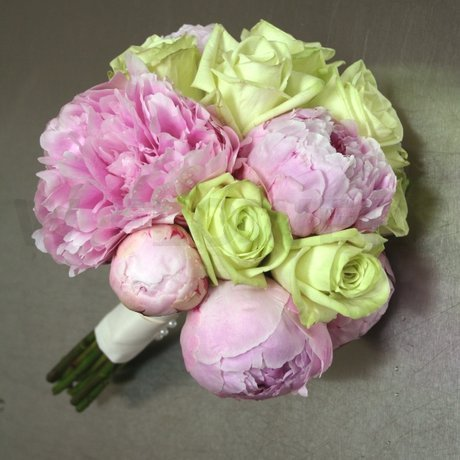 W Flowers product: Bouquet with Pink Peonies