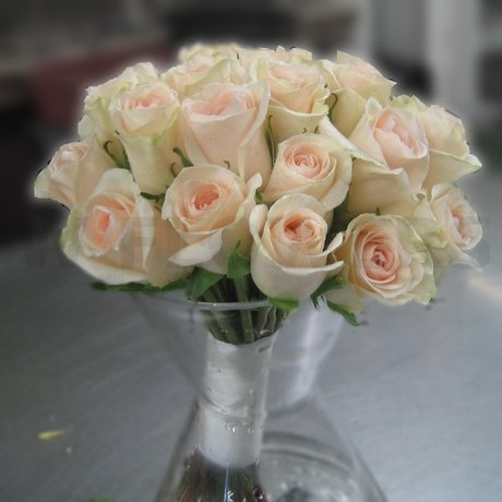 W Flowers product: Bridal Bouquet in Peach