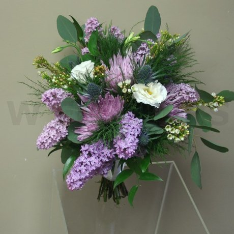 W Flowers product: Bridal Bouquet with Lavender Lilac