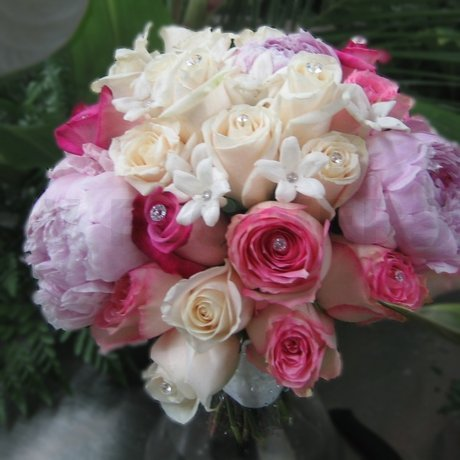 W Flowers product: Bridal Bouquet with Peonies