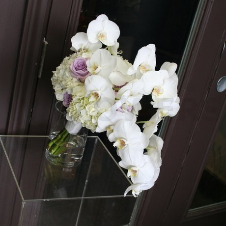 W Flowers product: Bridal Bouquet with phalaenopsis orchid