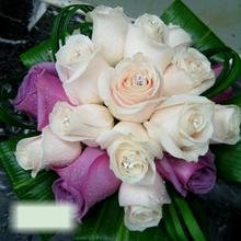 W Flowers product category: Bridal Bouquet with Purple Roses