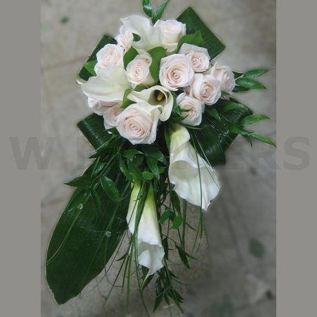 W Flowers product: Bridal Bouquet with White Calla