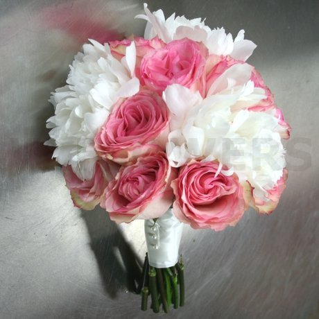 W Flowers product: Bridal Bouquet with White Peonies