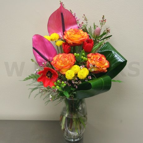 W Flowers product: Bright Bouquet in a Vase