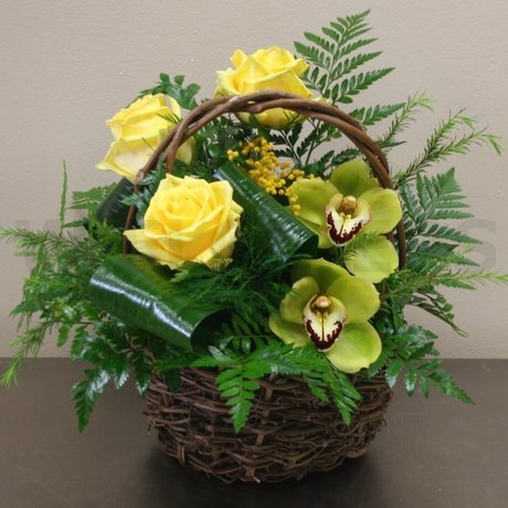 W Flowers product: Bright Days Basket