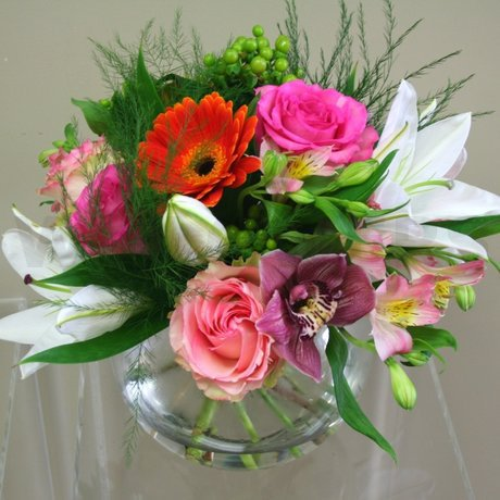 W Flowers product: Bright Vase
