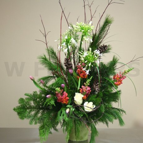 W Flowers product: Canadian Forest Style