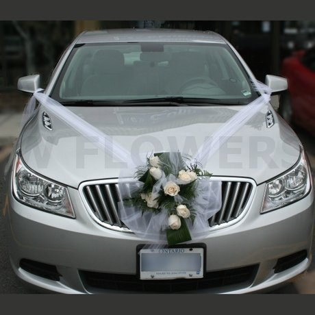 W Flowers product: Car Decoration for Wedding