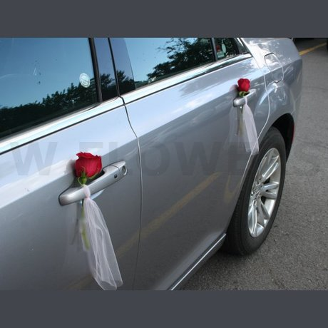 W Flowers product: Car Door Flower Decoration