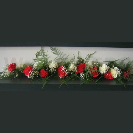 W Flowers product: Casket Garland