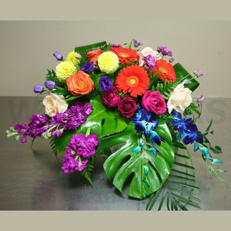 W Flowers product: Casket Spray Flowers