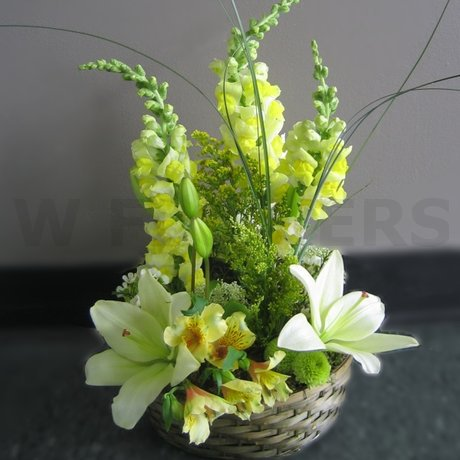 W Flowers product: Charming Basket