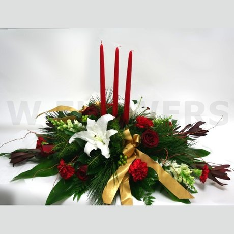 W Flowers product: Christmas by Candlelight
