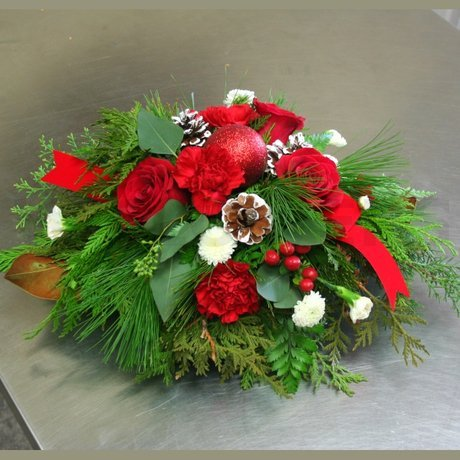 W Flowers product: Classic Christmas Centerpiece