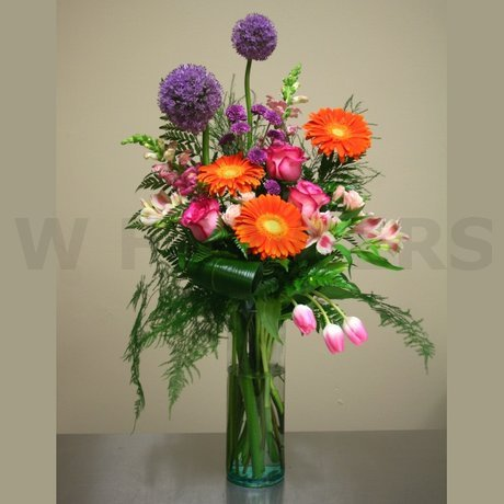 W Flowers product: Color Palette