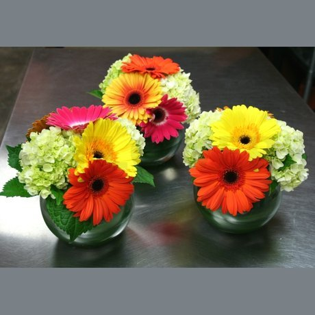 W Flowers product: Colorful centerpiece