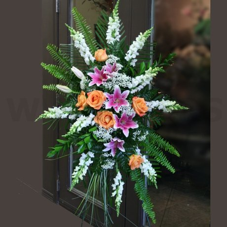 W Flowers product: Colorful Standing Spray