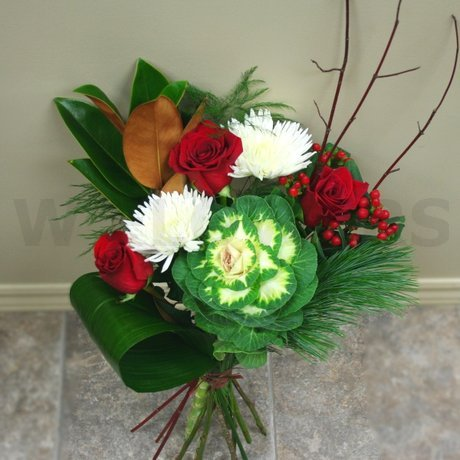 W Flowers product: Colorful Winter Bouquet