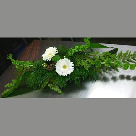 W Flowers product: Contemporary Christmas Centerpiece