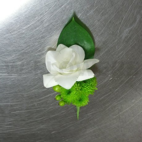 W Flowers product: Contemporary Freesia Boutonniere