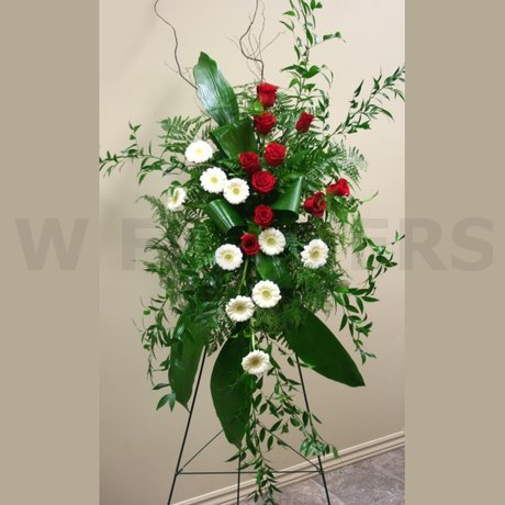 W Flowers product: Contemporary Spray