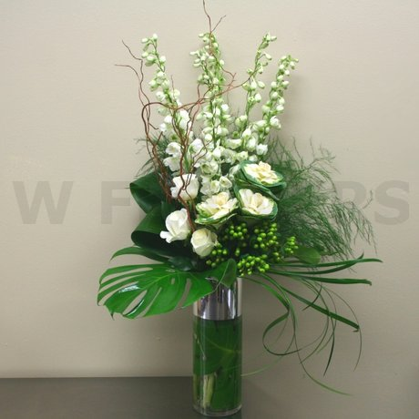 W Flowers product: Contemporary Vase Arrangement