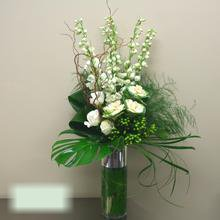 W Flowers product category: Contemporary Vase Arrangement
