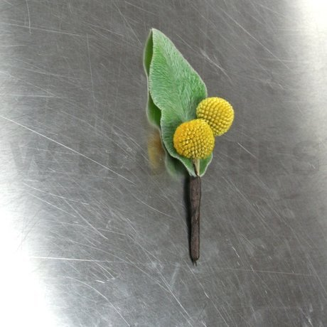 W Flowers product: Craspedia Boutonniere