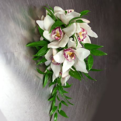 W Flowers product: Cymbidium Bridal bouquet