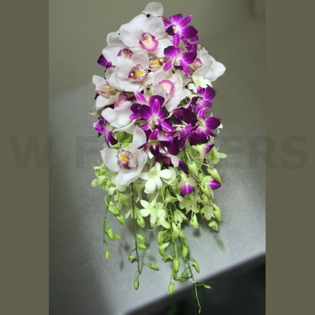 W Flowers product: Cymbidium Orchid Bouquet