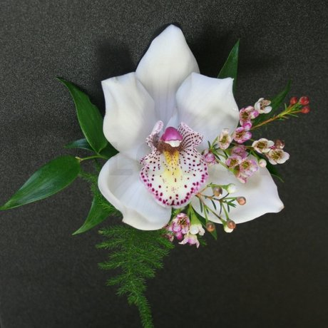 W Flowers product: Cymbidium Orchid Corsage