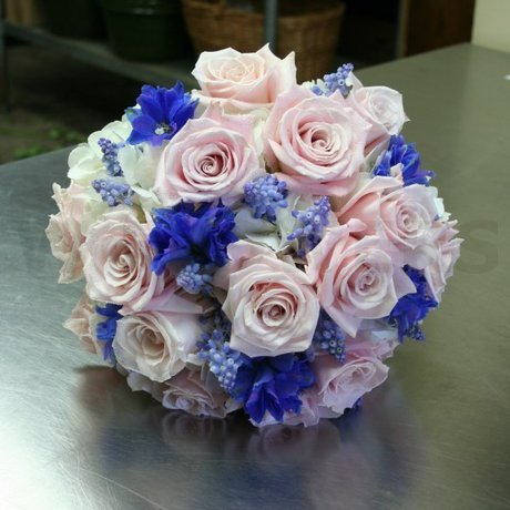 W Flowers product: Dusty pink wedding bouquet