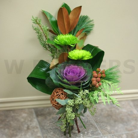 W Flowers product: Elegant Winter Bouquet