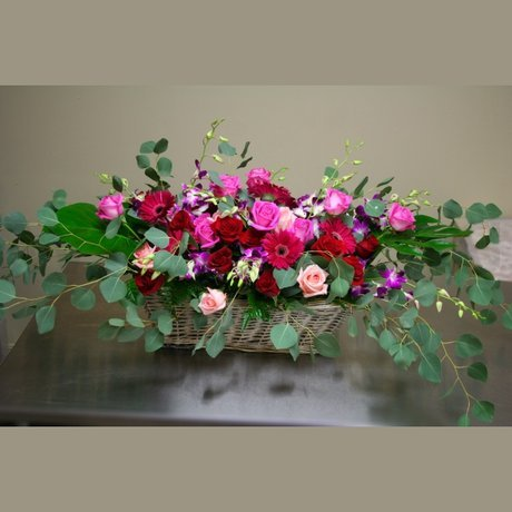 W Flowers product: Euro Garden Basket
