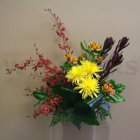 W Flowers product: Exotic flower arrangement