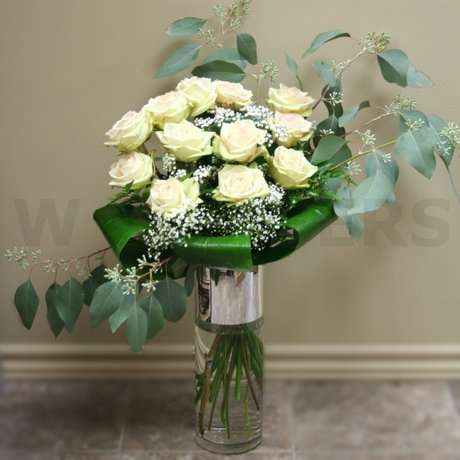 W Flowers product: Exquisite Dozen Roses