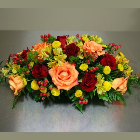 W Flowers product: Fall Centerpiece
