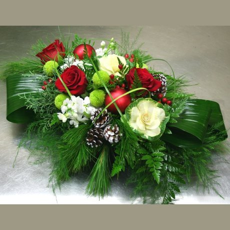 W Flowers product: Festivity Centerpiece