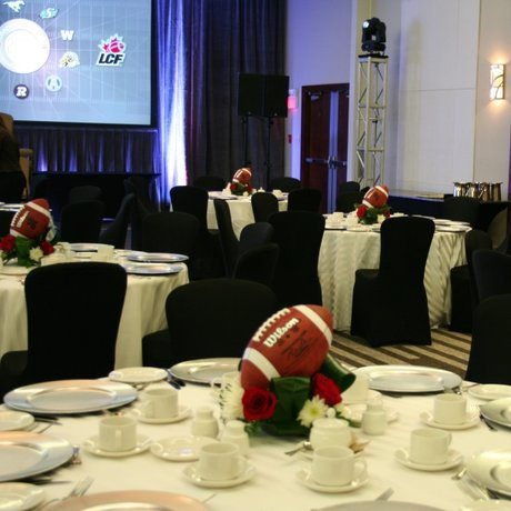 W Flowers product: Football Centerpiece